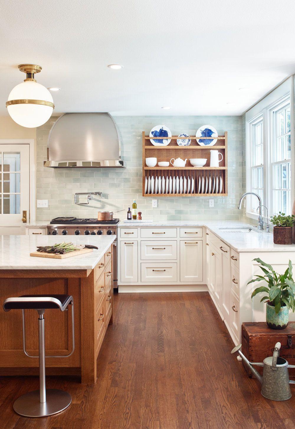 Sleek Scandinavian Kitchen   Tall kitchen cabinets, Best ...