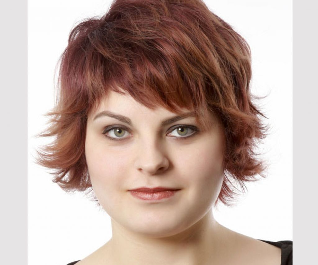 short hairstyles for fat faces and double chins - Google Search ...