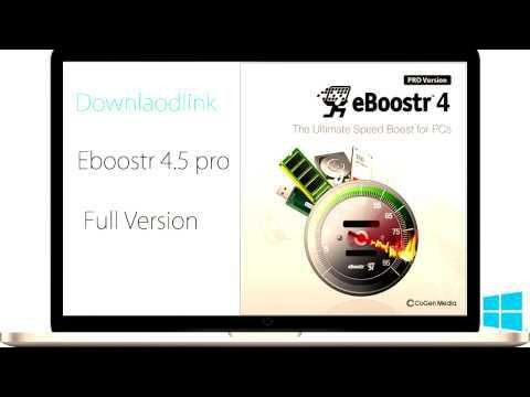 Eboostr 4 5 Pro Cracked Full Version Free Download Software Update Download Free Download