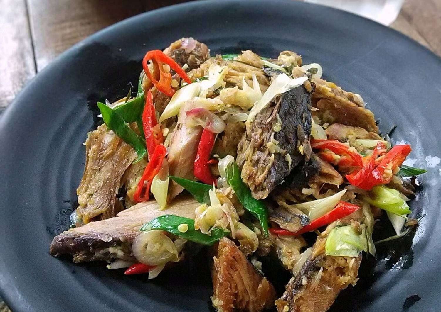 Resep Tumis Tongkol Asap Oleh Mbaiyya Resep Tumis Masakan Resep