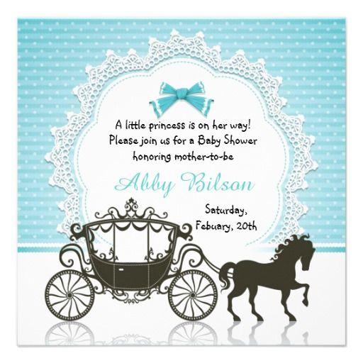 Cinderella Princess Horse Carriage Baby