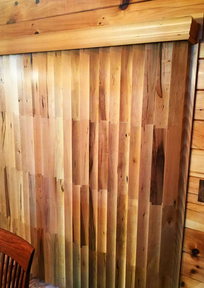 So You Think There Is Nothing New In Vertical Blinds Our Client Wanted To Keep The Rustic Look In Her Lo Rustic Blinds Vertical Window Blinds Vertical Blinds