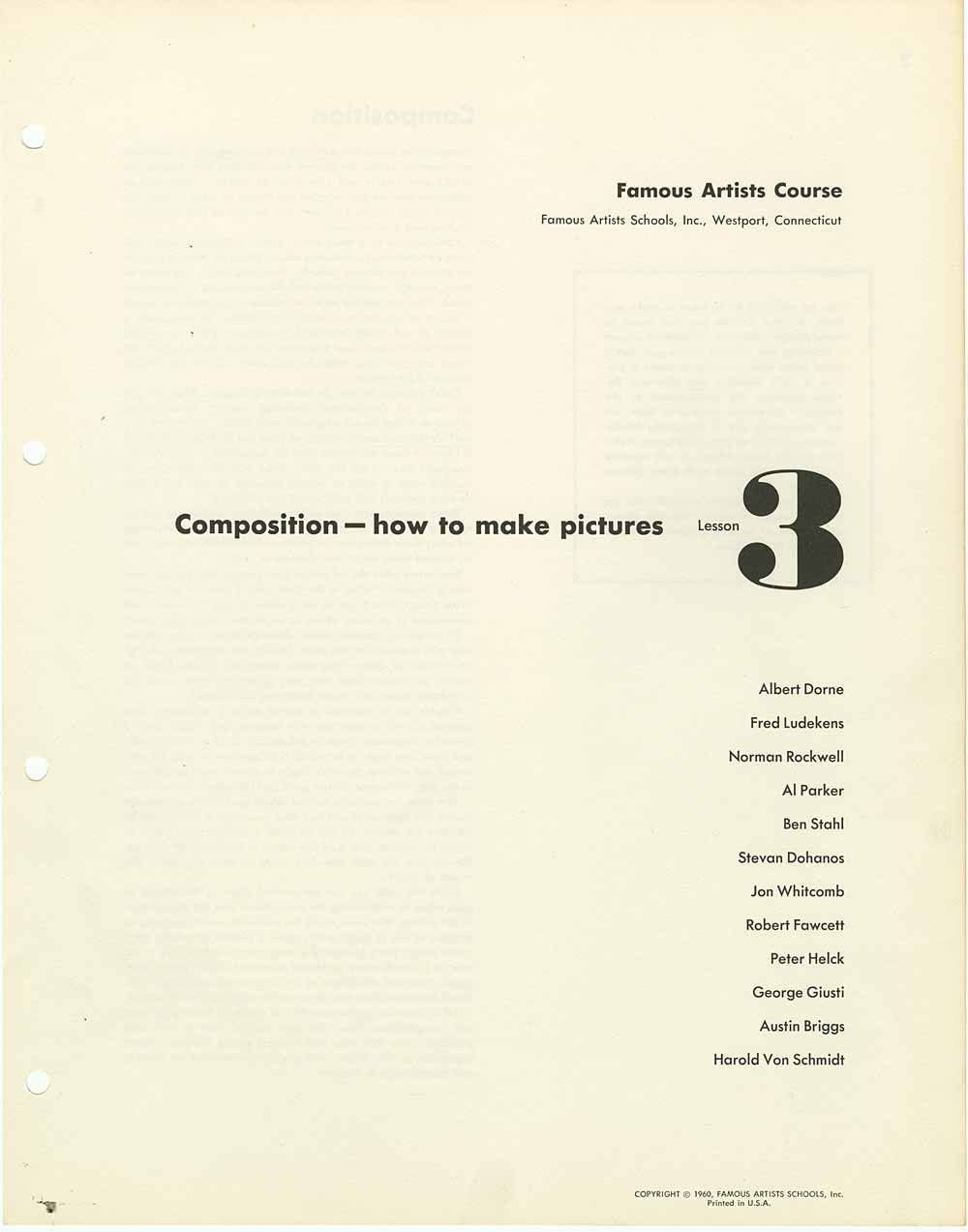 How to make a composition 89