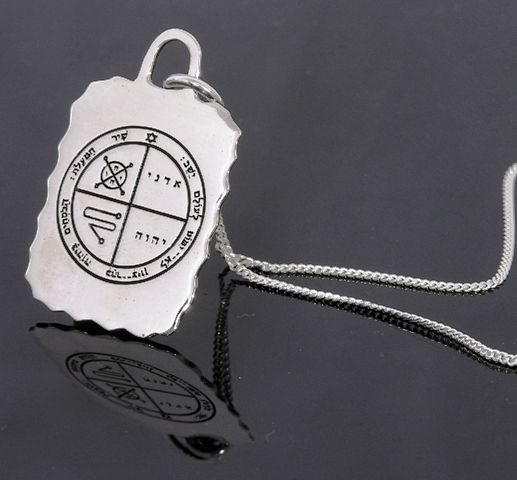 "$89 #Solomon Seal #necklace #Israeli #silver #kewelry #""Evil eye protection"" King Solomon Seal. At #Bluenoemi-jewelry.com"