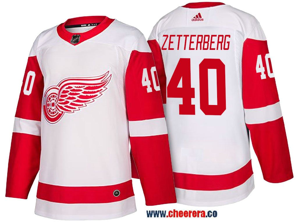 ae732729d6c ... sale mens detroit red wings 40 henrik zetterberg white 2017 2018 adidas hockey  stitched nhl jersey