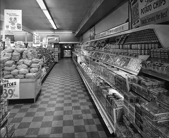 supermarket 1950s - Google Search | 1950s supermarkets | Pinterest ...