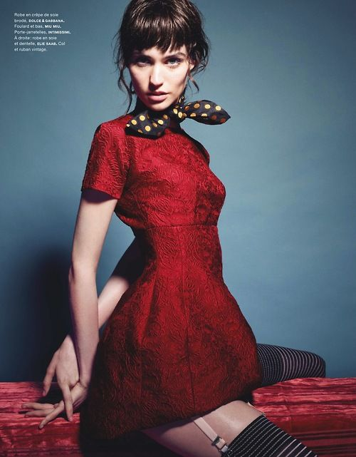 Manon Leloup by Liz Collins for Numero August 2013