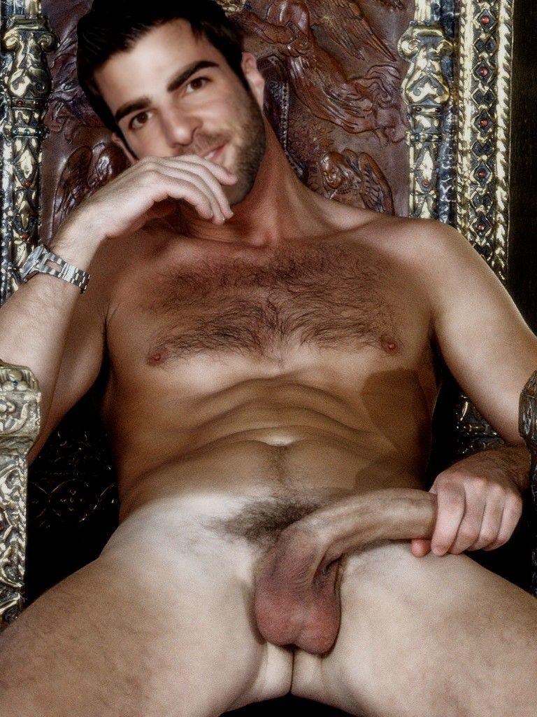 Male nudity and frontal porno Zach