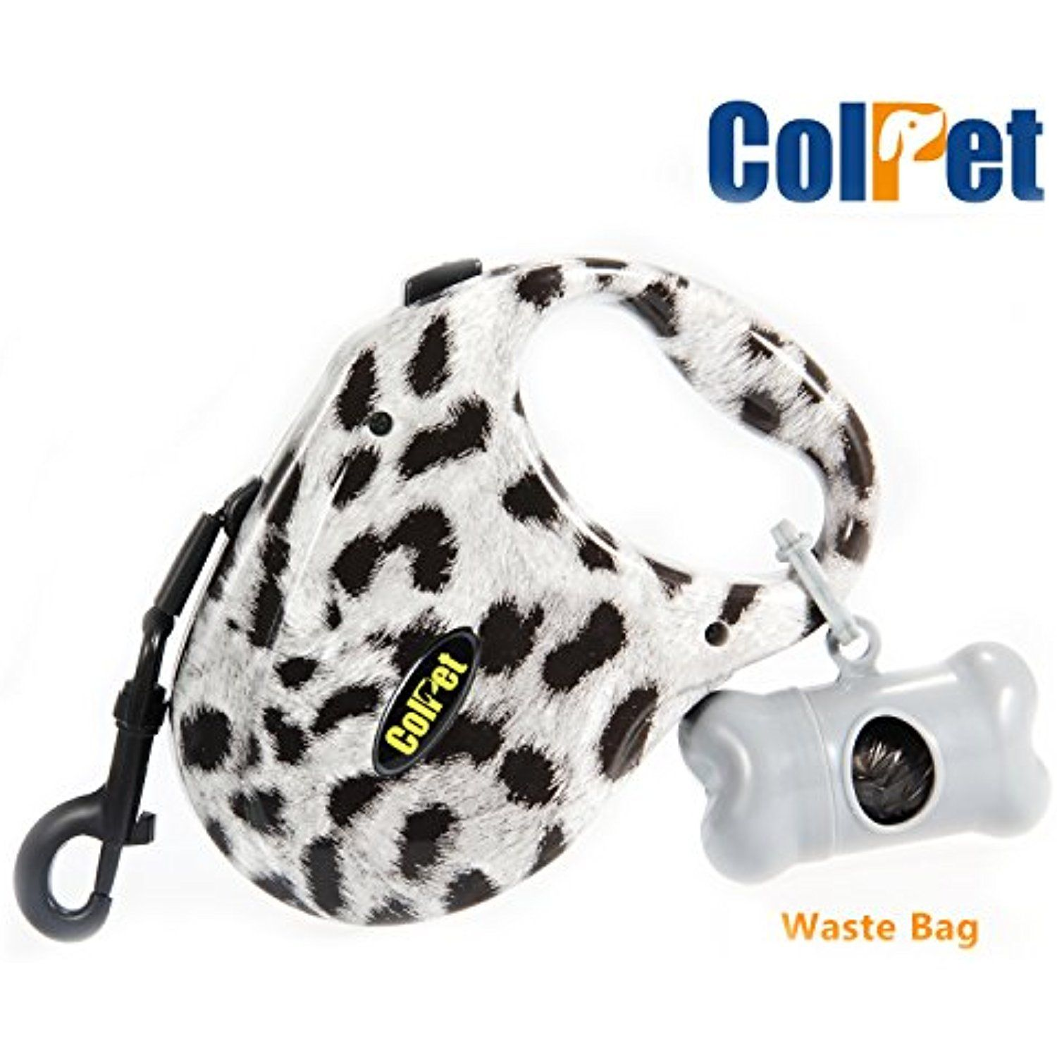 Retractable Dog Leash - Colpet CP-DL01 Retractable Tangle Free Dog Leash One Button Break and Lock, 16ft for Small Medium Large Dogs up to 110bl, Zebra -- You can find out more details at the link of the image. (This is an affiliate link) #SmallAnimals
