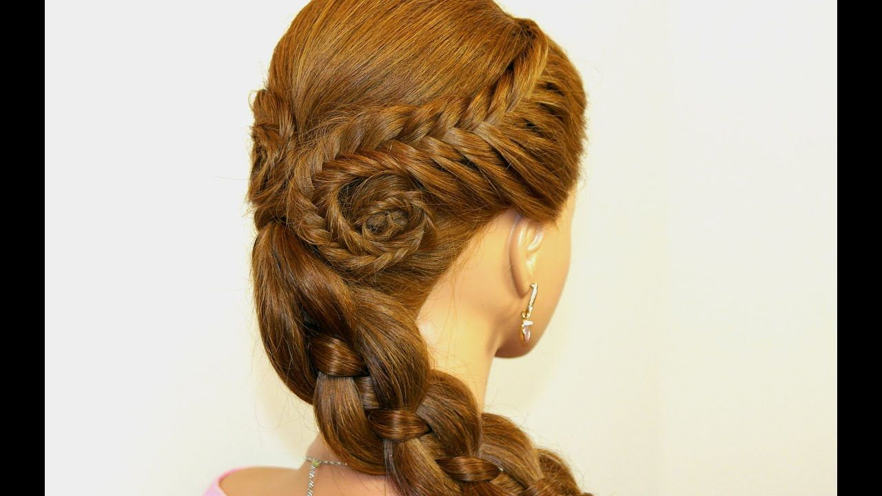 Easy Hairstyles For Long Hair Side Braid #hairstyle #sidebraidhairstyles