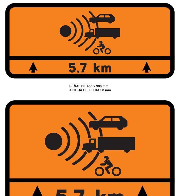Estas son las señales naranjas que te vas a encontrar este verano en 300 tramos peligrosos de carreteras