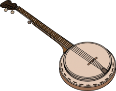 Free To Use Public Domain Music Clip Art Page 2 Banjo Music Clips Instruments