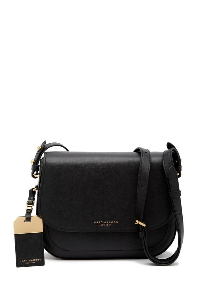 Marc Jacobs | Black Leather Cross Body Bag in 2020 | Marc
