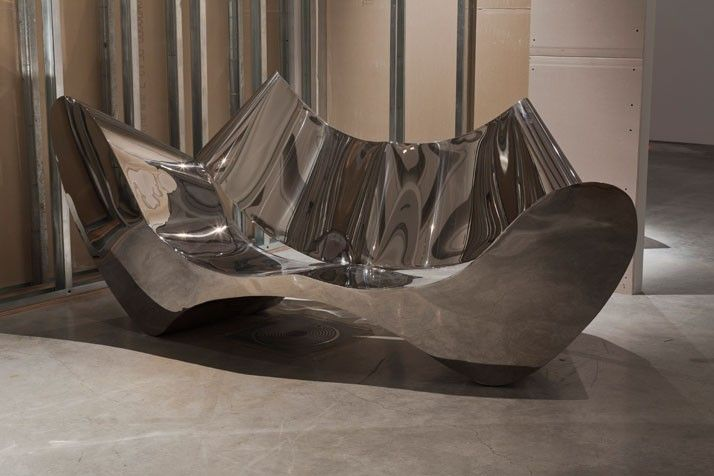 Charmant The Stainless Steel Sofa Designed By Architect Ron Arad Is The Worldu0027s Most  Expensive Sofa. It Was Designed With A Solid Finish And A Number Of Curves  To ...