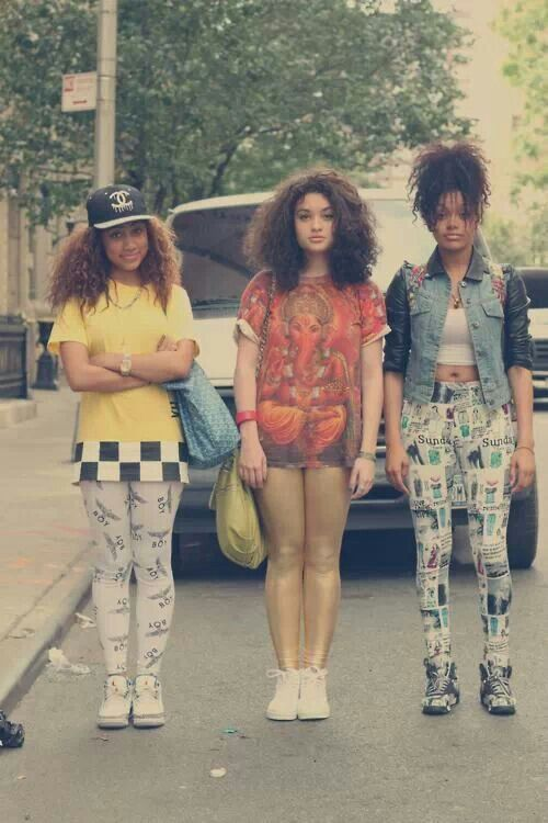 Urban street quirky swag colourful standing out ♥