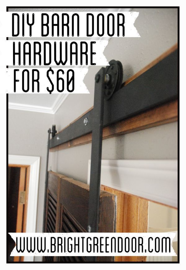 double diy door style track barn cabinet hardware room barns