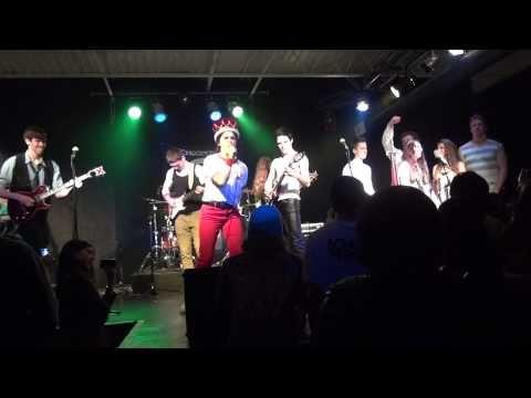 """""""Bohemian Rhapsody,"""" Queen Show, Ft. Washington School of Rock 5.10.13"""