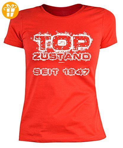 70 Geburtstag Damen Tshirt - Frauen 70 Jahre T-Shirt : Top Zustand seit 1947