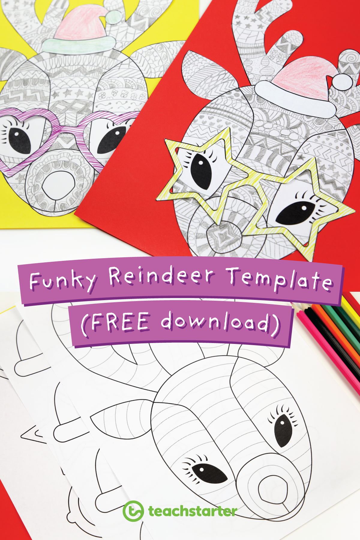 Funky Reindeer Template #funkyreindeer The most popular holiday craft idea is back! Don't forget to do your #funkyreindeer... #funkyreindeer Funky Reindeer Template #funkyreindeer The most popular holiday craft idea is back! Don't forget to do your #funkyreindeer... #funkyreindeer