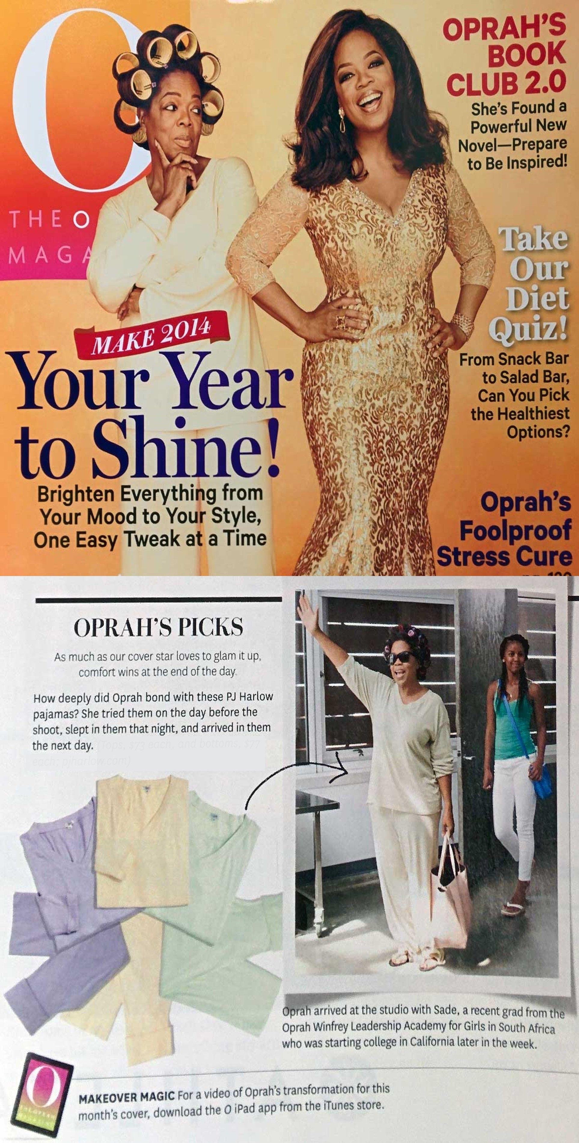 532d5c6b89 Oprah s Favorite Things.. PJ Harlow Pajamas