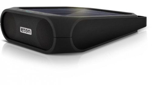 Eton Rugged Rukus All Terrain Portable Solar Wireless Sound System Black The Is An Ed Music Blasting