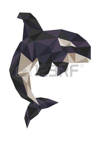 geometric whale reference: