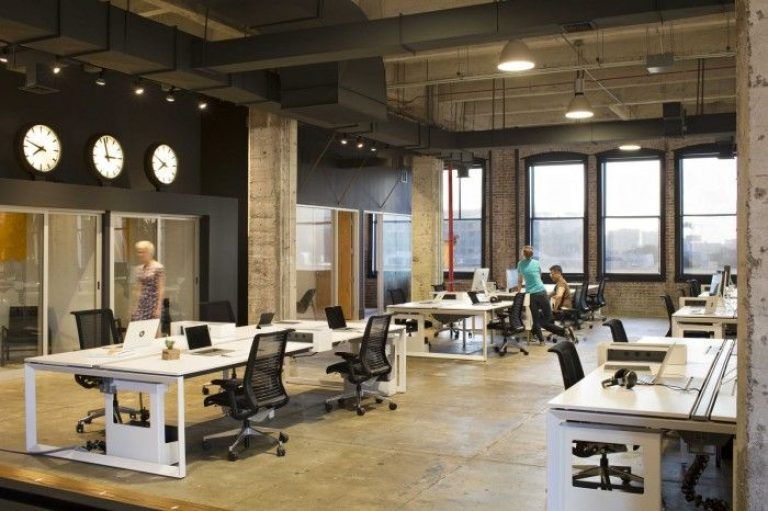 Industrial Office Design Ideas Open Office Design On