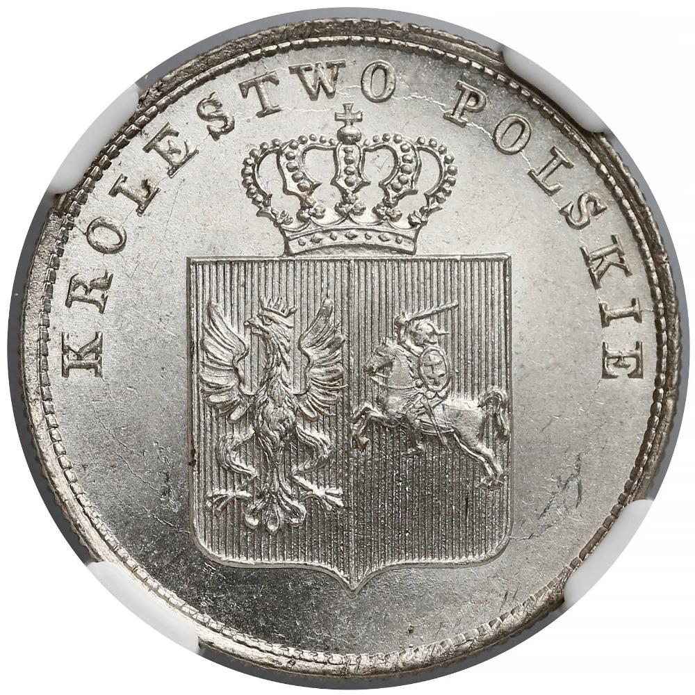 Powstanie Listopadowe 2 Zlote 1831 Kg Ngc Ms66 Archiwum Gabinetu Numizmatycznego D Marciniak Coins Monet Money