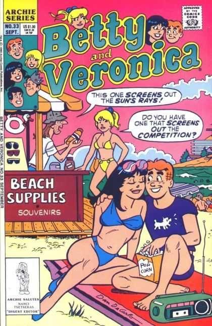 Archie - Beach - Sunscreen - Blanket - Popcorn