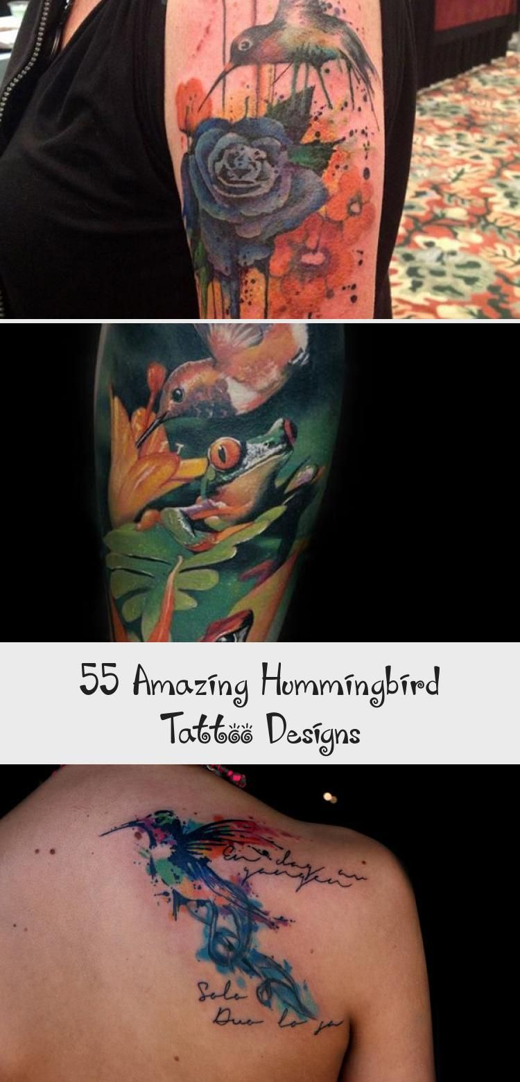 Photo of Kolibri Ärmel Tattoo – 55 erstaunliche Kolibri Tattoo Designs ♥ ♥ #blac …