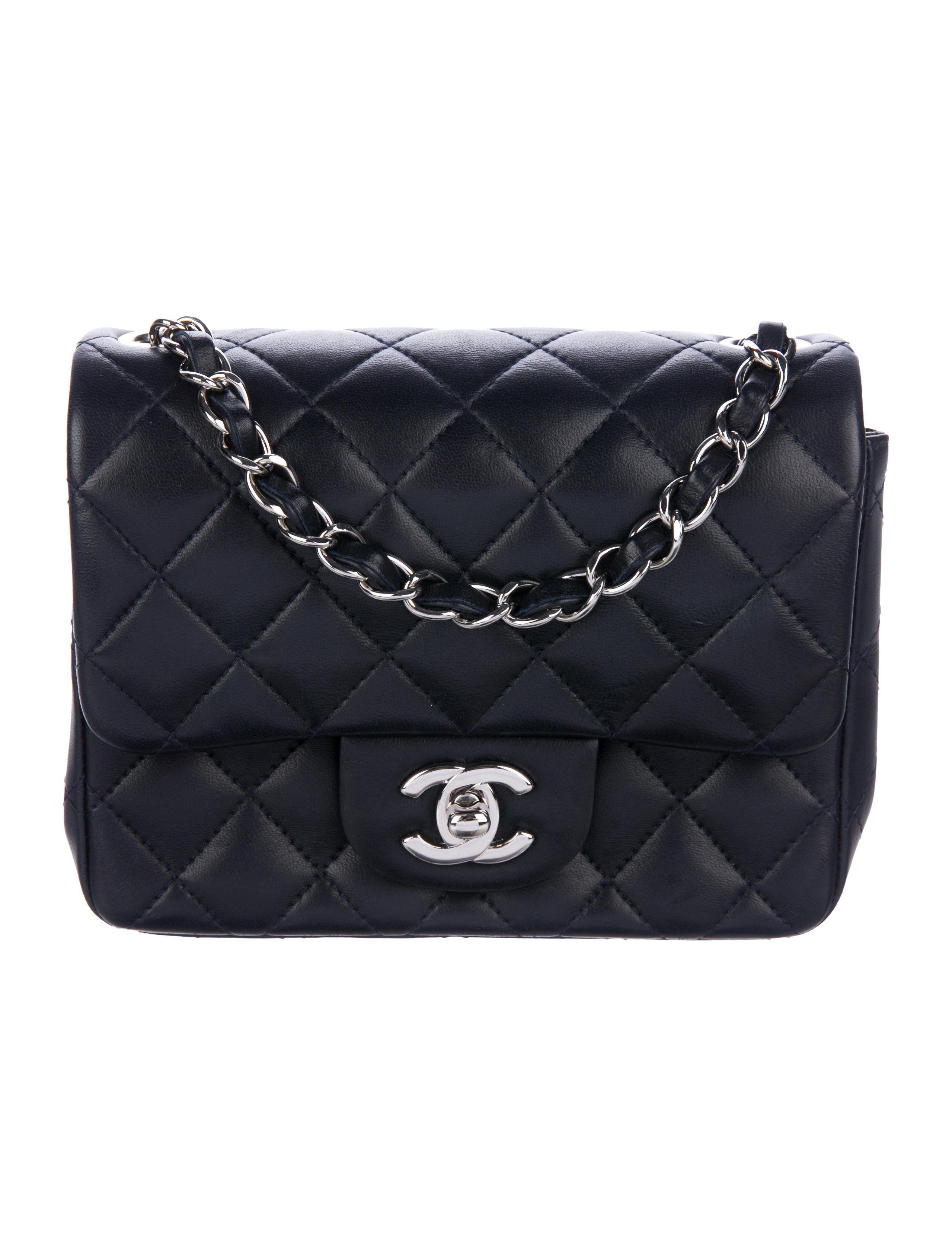 672997ee674853 Chanel Classic Mini Square Flap Bag - Handbags - CHA282551 | The RealReal