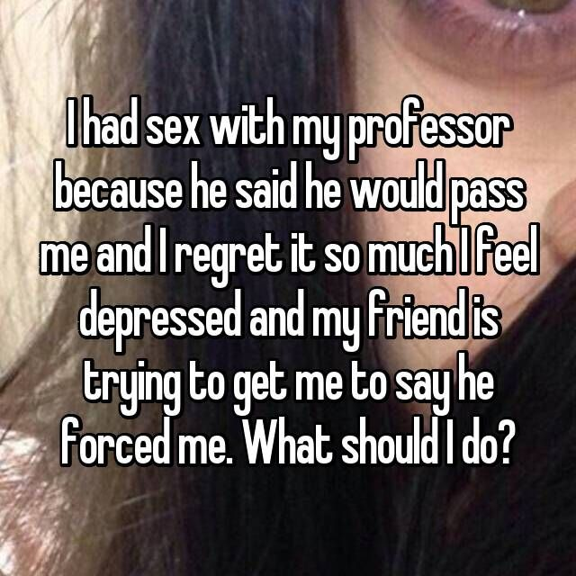 I Want To Hook Up With My Professor