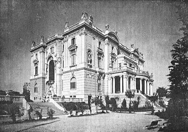 Palacio De Los Marqueses De Amboage En El Barrio De Salamanca
