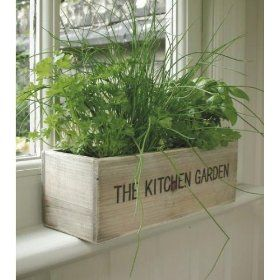Rosemary is my favourite herb - I would have to plant plenty in this beauty!