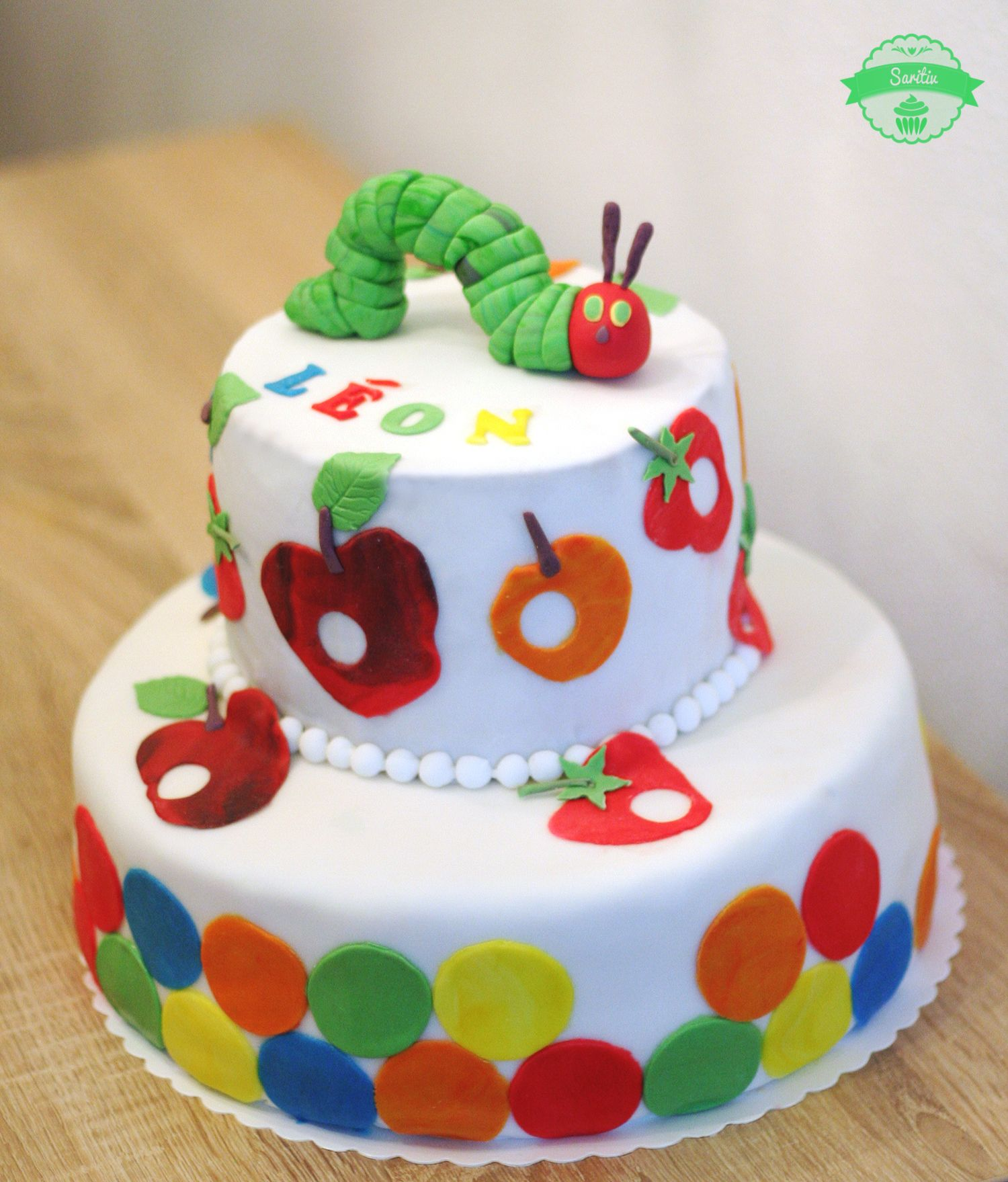 Die kleine Raupe Nimmersatt  Kuchen  Birthday Cake Birtday cake und No bake cake