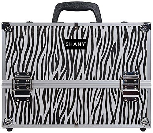 SHANY Aluminum Pro Makeup Train Case with Shoulder Strap and Locks, Zebra SHANY http://www.amazon.ca/dp/B00JGN1XJO/ref=cm_sw_r_pi_dp_LjF.ub0VCSS13