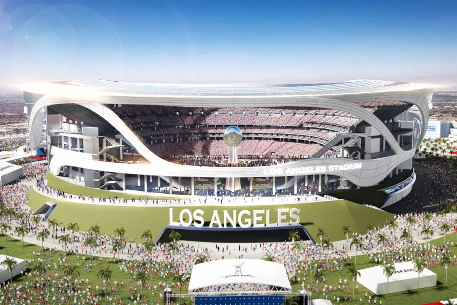 Rams Heading To Los Angeles Chargers Have Option To Join Estadio De Futbol Estadios Los Angeles