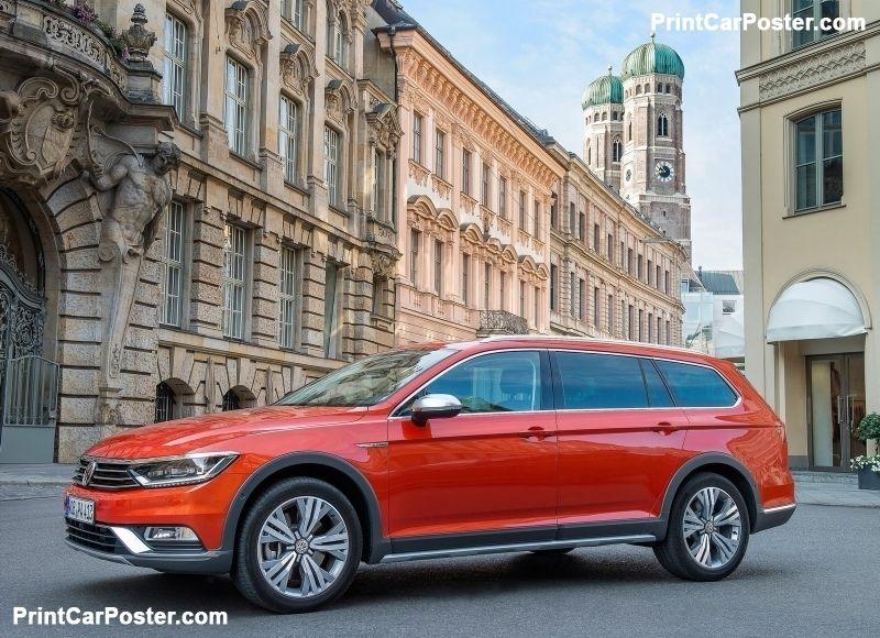 Volkswagen Passat Alltrack 2016 poster