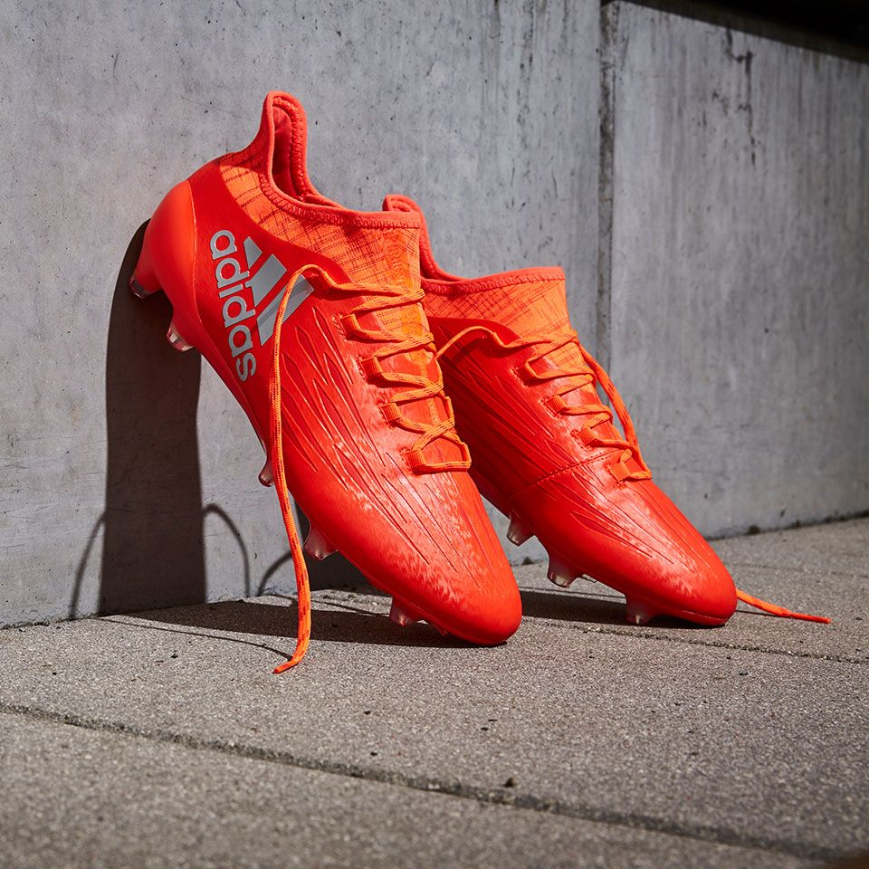 Adidas X 16 1 Fg Ag Solar Red Silver Metallic Hi Res Red