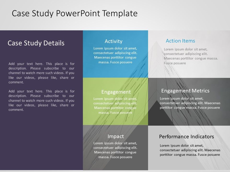 Pin By Slideuplift On Powerpoint Templates Slide Templates Case Study Template Case Study Design Case Study