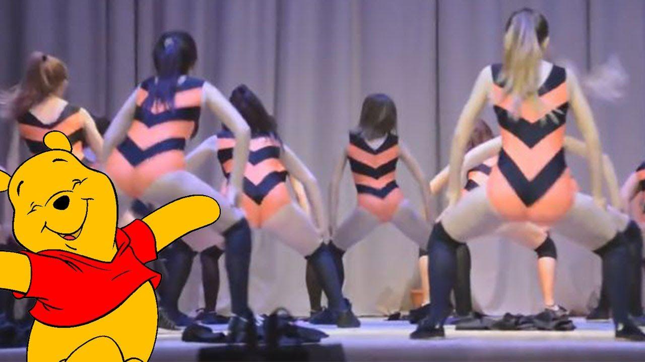 Russian Girls Twerk To Winnie The Pooh