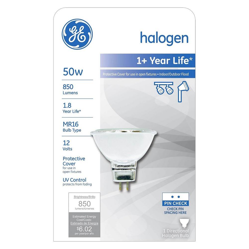 Ge 50 Watt Mr16 Halogen Light Bulb Soft White Light Bulb Bulb