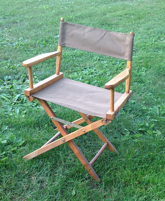 Collapsible Director S Chair Vintage Collapsible Chair