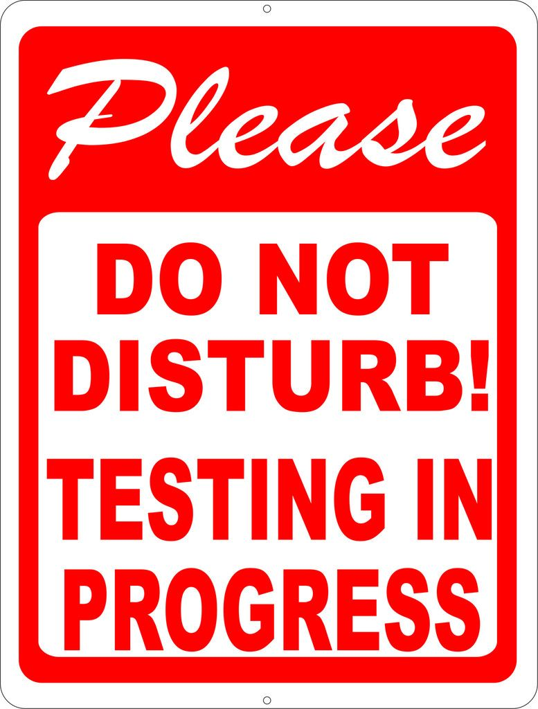 Please Do Not Disturb Sign Printable : please, disturb, printable, Rules, Regulations