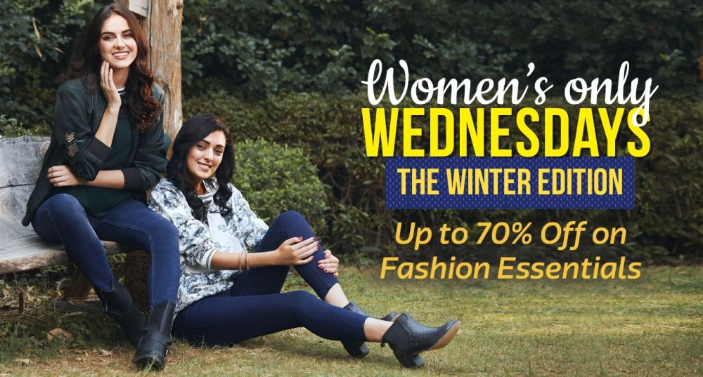 Women Only Wednesday on Flipkart Fashion clothes women