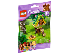 LEGO® Friends Squirrel's Tree House 41017