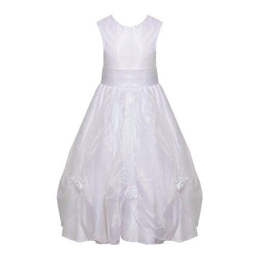 Girls Special Occasion Wedding Bridesmaid Wedding Bridesmaid Dress Large Rose Pin tuck Cream Age 4 Asin: B00G7VVNQG Ean: 0799430577106