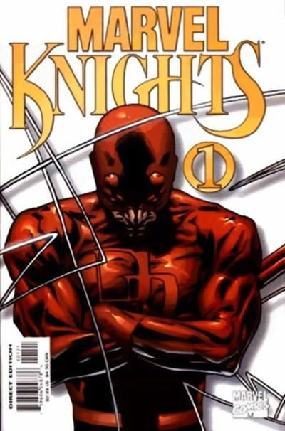 Marvel Knights # 1 (Variant) by Joe Quesada & Jimmy Palmiotti