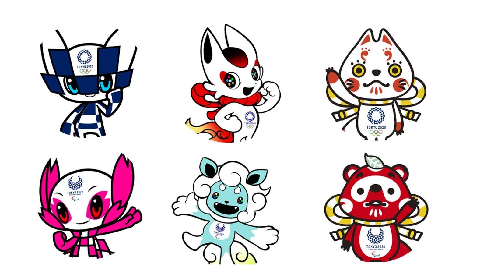 Japan It's A Wonderful Rife 2020 Tokyo Olympic Mascot