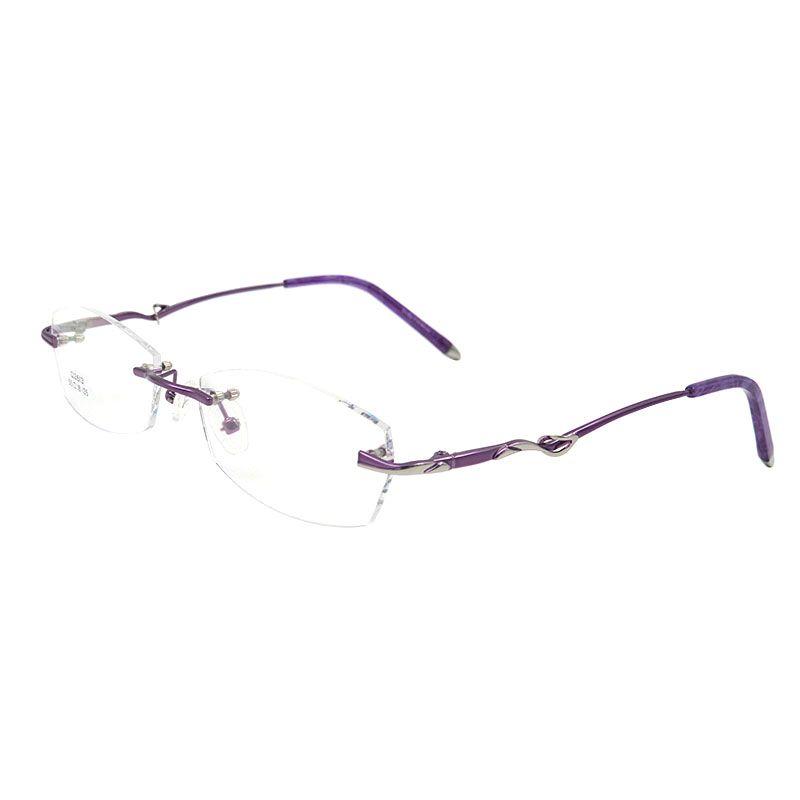 af9b5edb4e Glasses · Cheap rimless eyeglasses frame ...